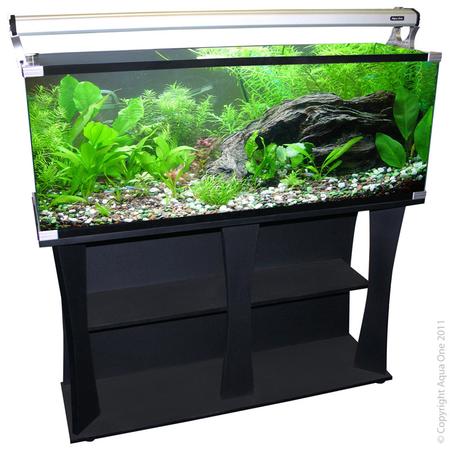 Aqua One Horizon 182L Fish Tank Starter Kit w/Stand