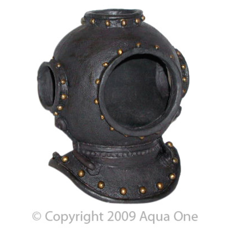 Aqua One Ornament - Deep Sea Divers Helmet - 16x13cm