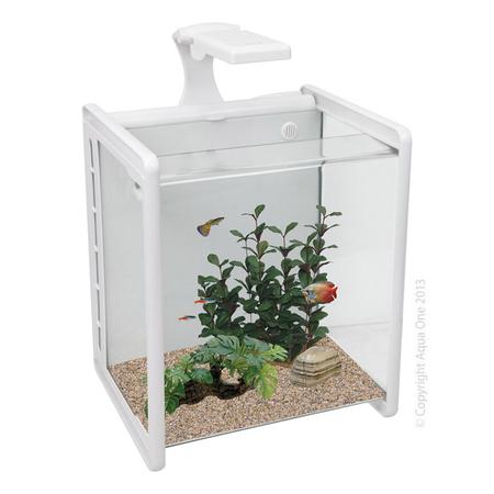 Aqua One Reflex Nano 35 Litre Aquarium Fish Tank White
