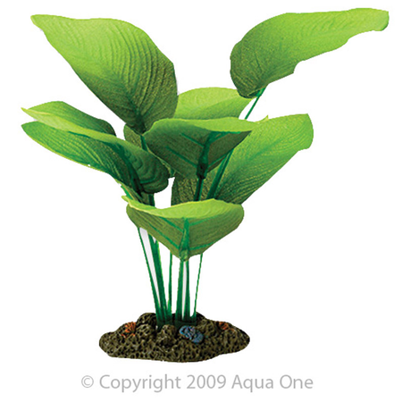 Aqua One Silk Plant Sword Radicans Artificial Aquarium Plant  13cm