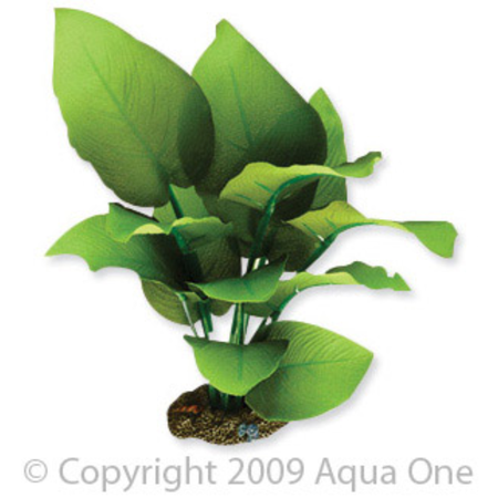 Aqua One Silk Plant Sword Radicans Artificial Aquarium Plant  20cm