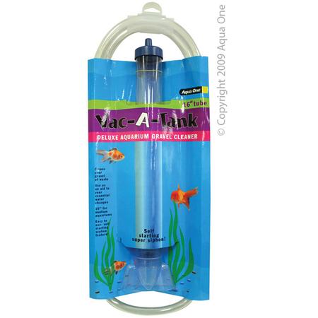 Aqua One Vac A Tank Aquarium Gravel Cleaner  16In