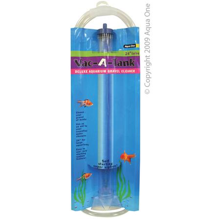 Aqua One Vac A Tank Aquarium Gravel Cleaner  24In