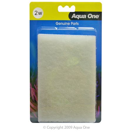 Aqua One White Wool - AR510 Aquastyle 2 pack