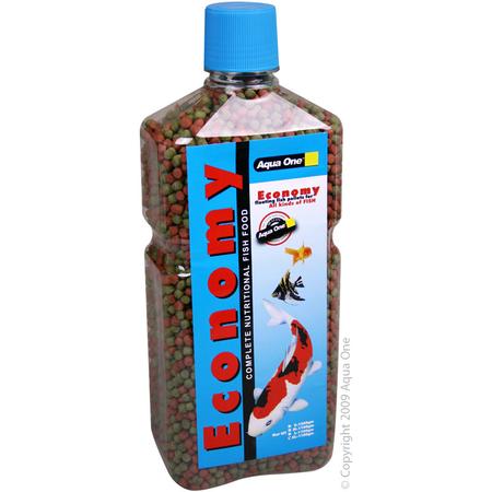 Aqua One - Economy - 4mm Pellets - Goldfish Food
