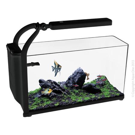 Aqua One - Reflex Nano - 15 Litre Aquarium Fish Tank