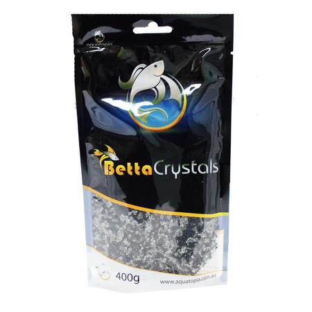 Aquatopia Betta Crystals Aquarium Gravel Black 400gm
