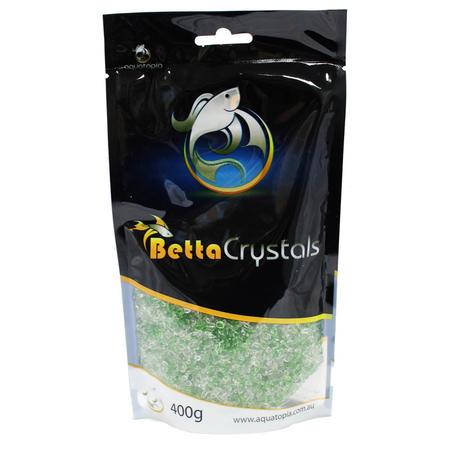 Aquatopia Betta Crystals Aquarium Gravel Green 400gm