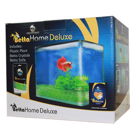 Aquatopia Deluxe Betta Home - 2.4ltr
