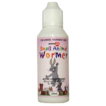 Aristopet Small Animal Wormer 50ml