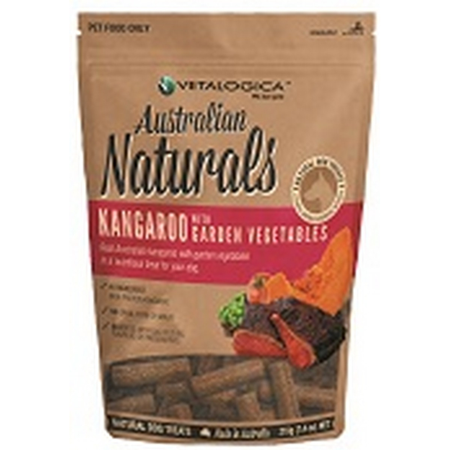 Australian Naturals Dog Kangaroo & Vegetable treats 210g