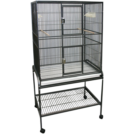 Avi One 322 Flight Cage with Stand 80L x 53W x 152H