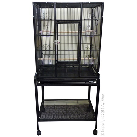 Avi One 603 Square Cage - Black