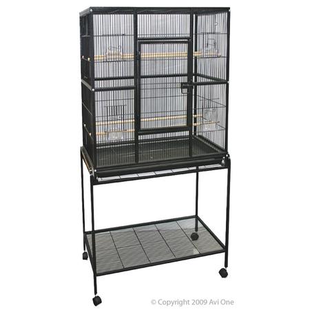 Avi One 604 Parrot Cage - Black
