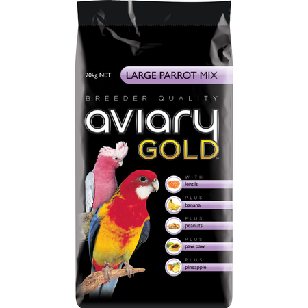Aviary Gold Large Parrot Mix Bird Seed  20kg