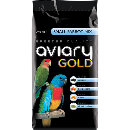 Aviary Gold Small Parrot Mix Bird Seed  20kg