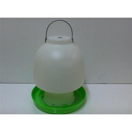 Avico Green/White Poultry Waterer 6.5lt