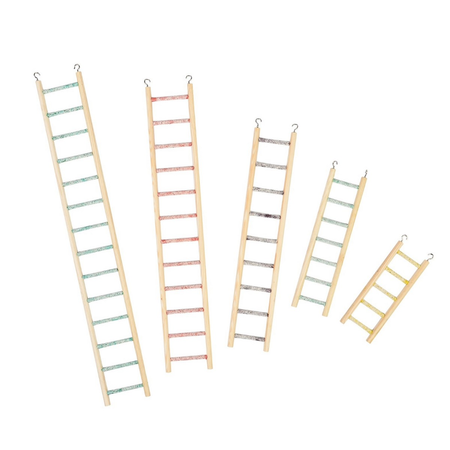 Avione Timber Ladder & CementRun 7 Step