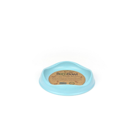 BecoThings Eco Friendly Cat Bowl Blue