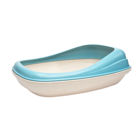 BecoThings Eco Friendly Cat Litter Tray Blue