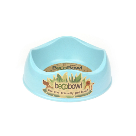 BecoThings Eco Friendly Dog Bowl Blue Large (1.5L)