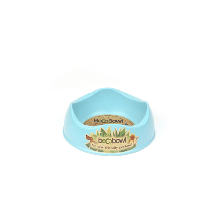 BecoThings Eco Friendly Dog Bowl Blue Small (0.5L)