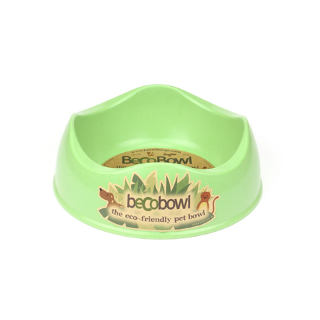 BecoThings Eco Friendly Dog Bowl Green Large (1.5L)