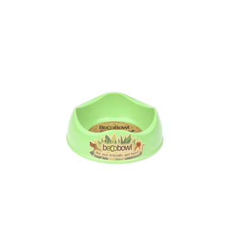 BecoThings Eco Friendly Dog Bowl Green Small (0.5L)
