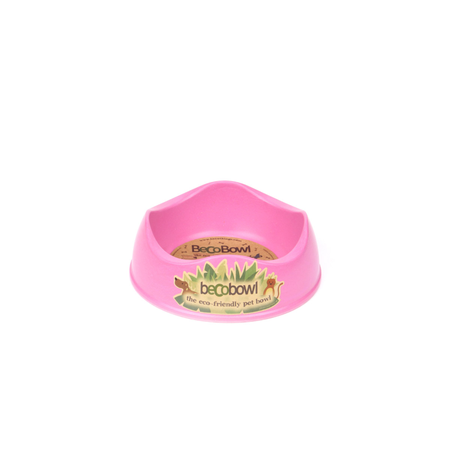 BecoThings Eco Friendly Dog Bowl Pink Small (0.5L)