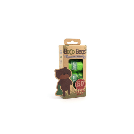 BecoThings Eco Friendly Poop bags  60pk