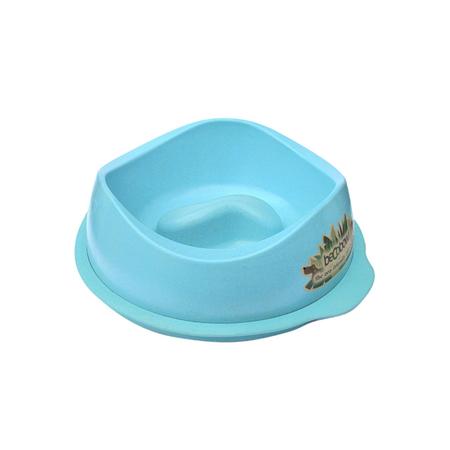 BecoThings Eco Friendly Slow Feed Dog Bowl Blue Large (1.25lt)