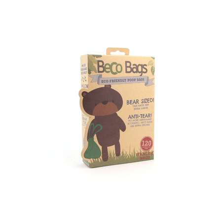 Beco Bags Eco Friendly Poop Bags With Handles - 120 pack