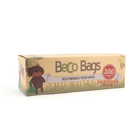 Beco Bags Eco Friendly Poop Bags - Single Roll 300 pack