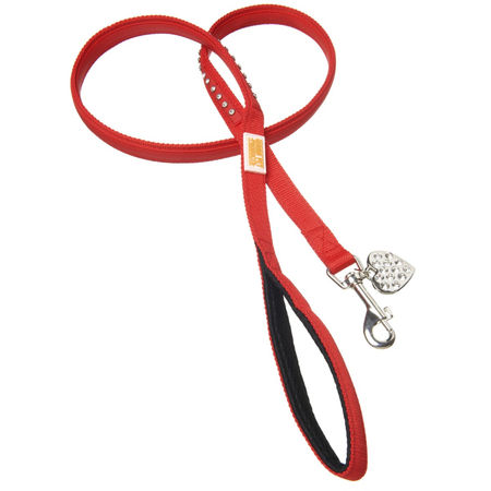 Bling Red lead 10mm