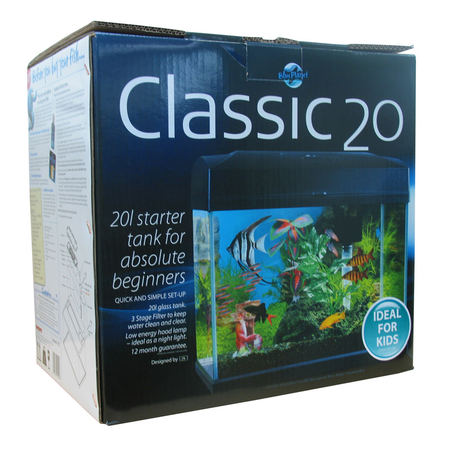 Blue Planet Classic Aquarium Fish Tank  20L