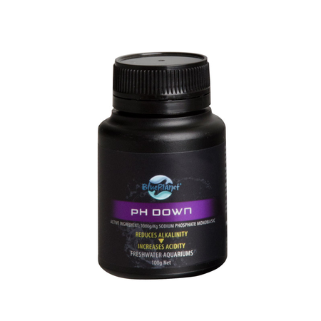 Blue Planet pH Down Aquarium pH Regulator  100gm