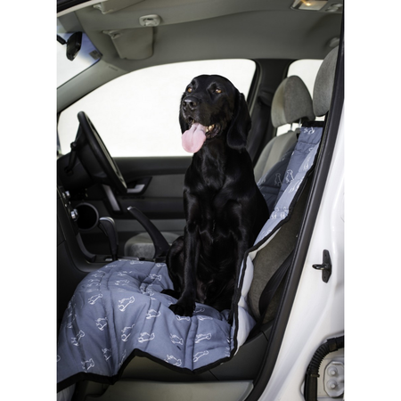 Buddy & Belle Car Seat Cover Single - BLACK