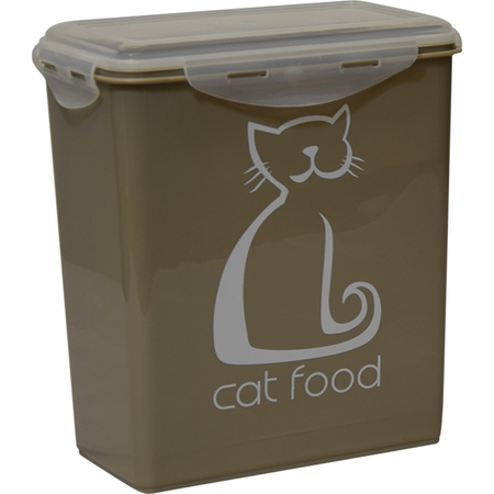 Buddy & Belle Cat Food Container Grey