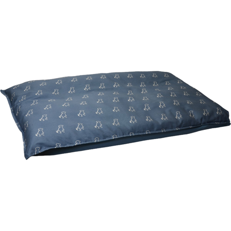 Buddy & Belle Futon Dog Bed Blue Large (98cmx68cm)