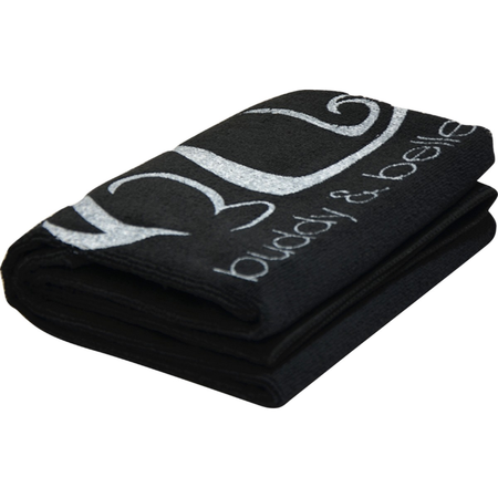 Buddy & Belle Microfiber Towel Black