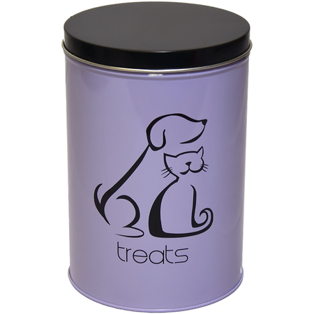 Buddy & Belle Pet Treat Canister Black