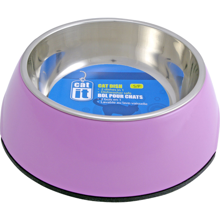 Catit 2 in 1 Durable Cat Bowl Pink 160ml