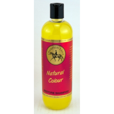 Champion Tails Natural Colour Restoring Shampoo for Horses  500ml