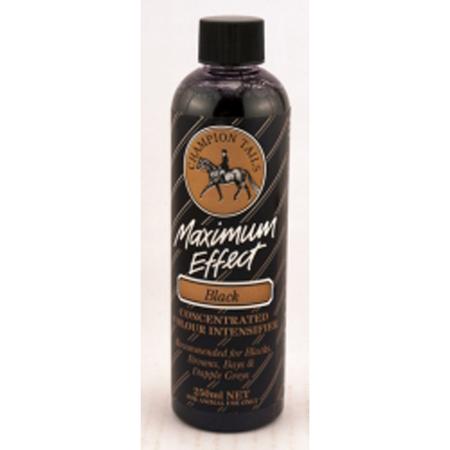 Champion Tails - Maximum Effect Black - Colour Intensifier for Horses