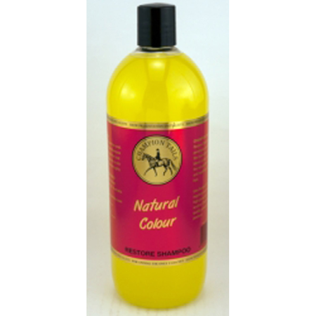 Champion Tails - Natural Colour - Restoring Shampoo for Horses