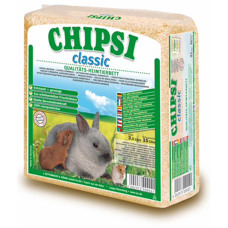 Chipsi Litter - Classic Wood Shavings - Small Animal Bedding
