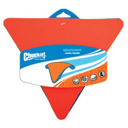 Chuckit Heliflight Triangular Frisbee Dog Toy Large