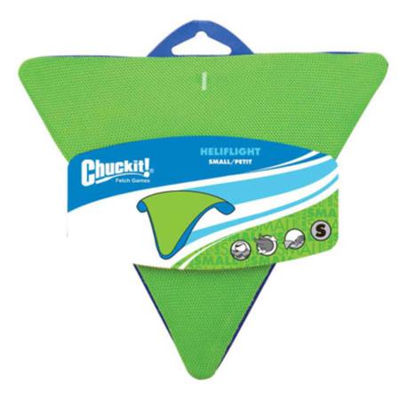 Chuckit Heliflight Triangular Frisbee Dog Toy Small