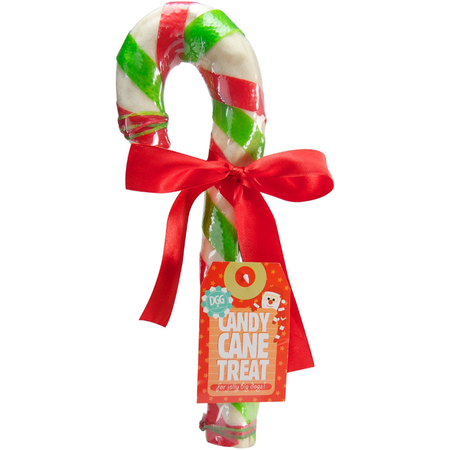 DGG Christmas Rawhide Candy Cane