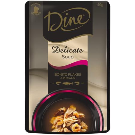 Dine Delicate Soup Bonito Flakes & Prawns - 40gm